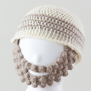 4kids beard knitcap mo134 17aw