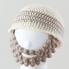 Thumb 4kids beard knitcap mo134 17aw