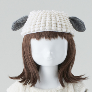 5kids sheep knitcap mo135 17aw