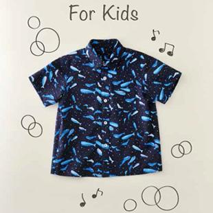 Kh27 1804kids half shirt
