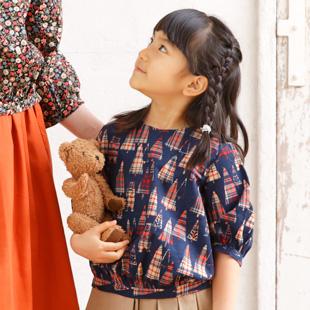 Kids blouse hk10 1808