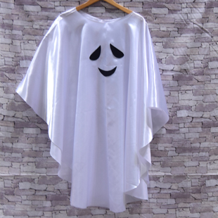 Hc18aw ghost poncho adult