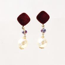 Thumb beads resip09velours pearl pierce
