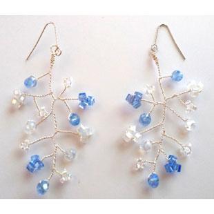Glas cut beads pierce310