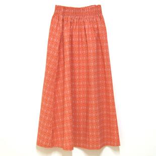 Hk1 2003shirring long skirt