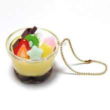 Thumb resin pudding a la mode