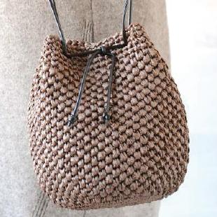 H167 208 302 double knit 5ball kinchaku