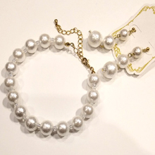 Thumb perl accessory pierce bracelet310