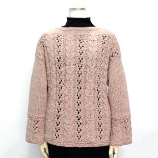 Mo106 20aw alanpattern sweater