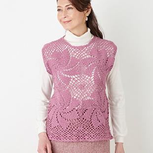 H145 200 023rosemotif pullover