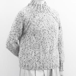 Yo4 20aw topdown sweater