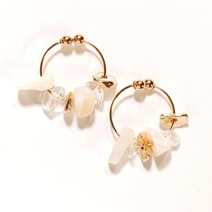 202103accessory shell beads circle ball clip pierce