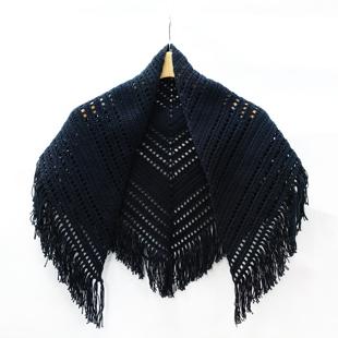 Mo204 21ss triangle shawl
